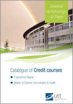 Catalogue of credit courses